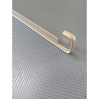 Стикова планка для стільниці LUXEFORM пряма колір RAL1019